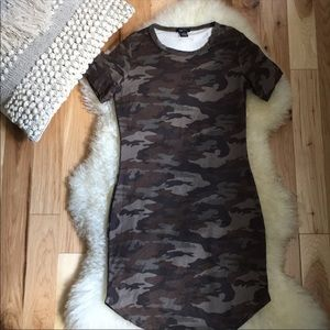 Rue21 Camouflage Short Dress